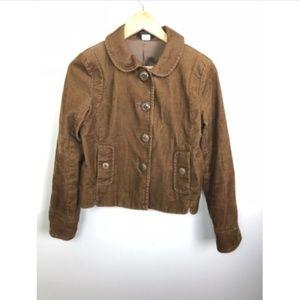 [J. Crew] Brown Corduroy Blazer Stretch Jacket